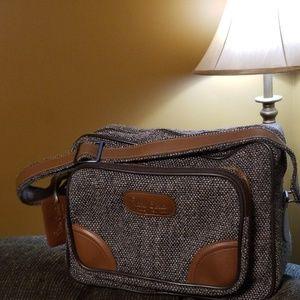 Vintage Pierre Cardin luggage tote